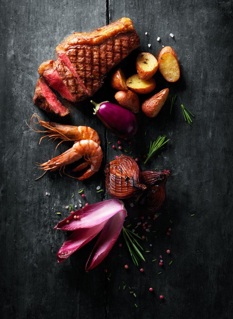 Bijenkorf Kitchen Grill Instore Poster