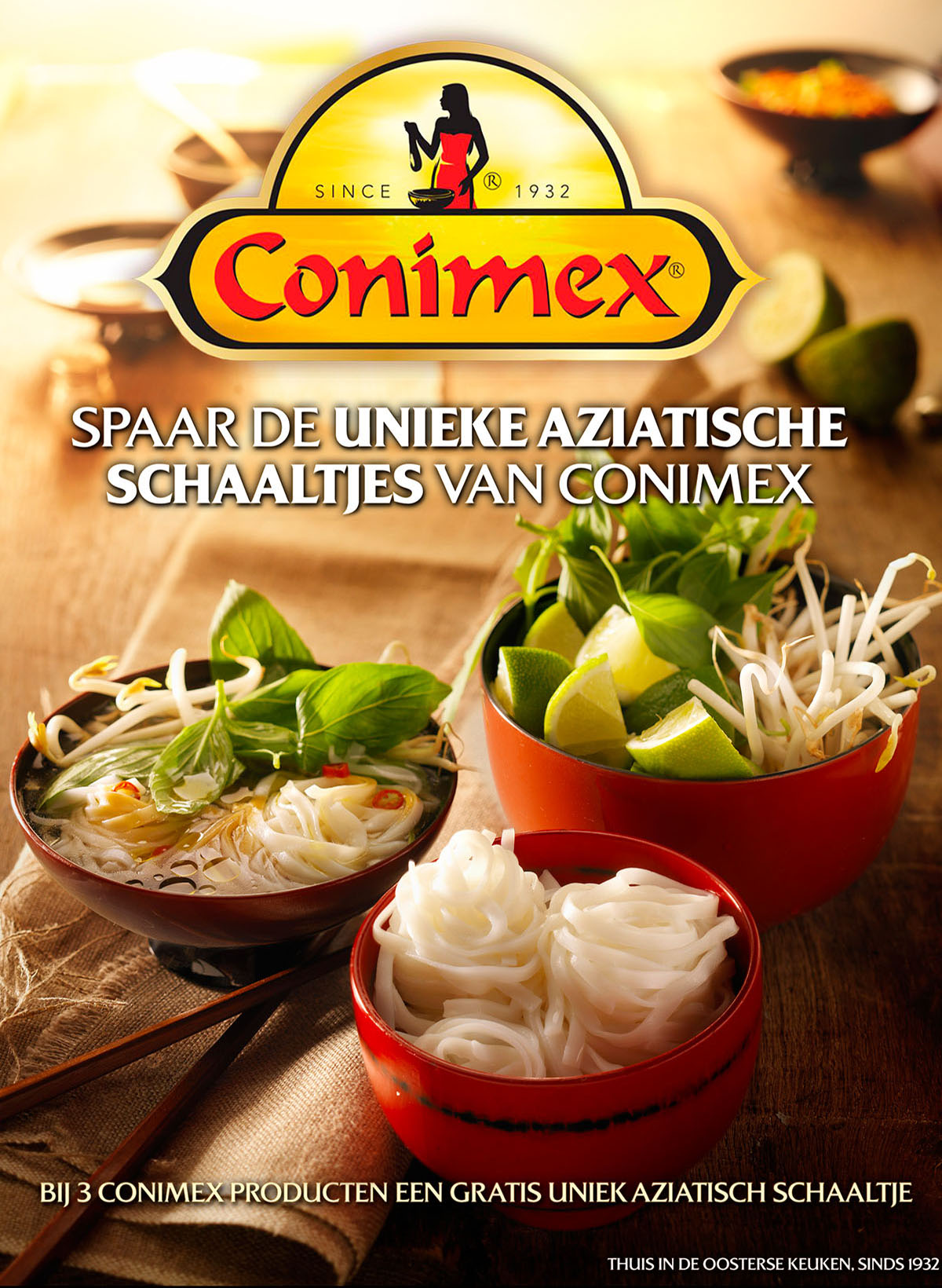 Conimex Advertising & Food Photography Asian Bowls