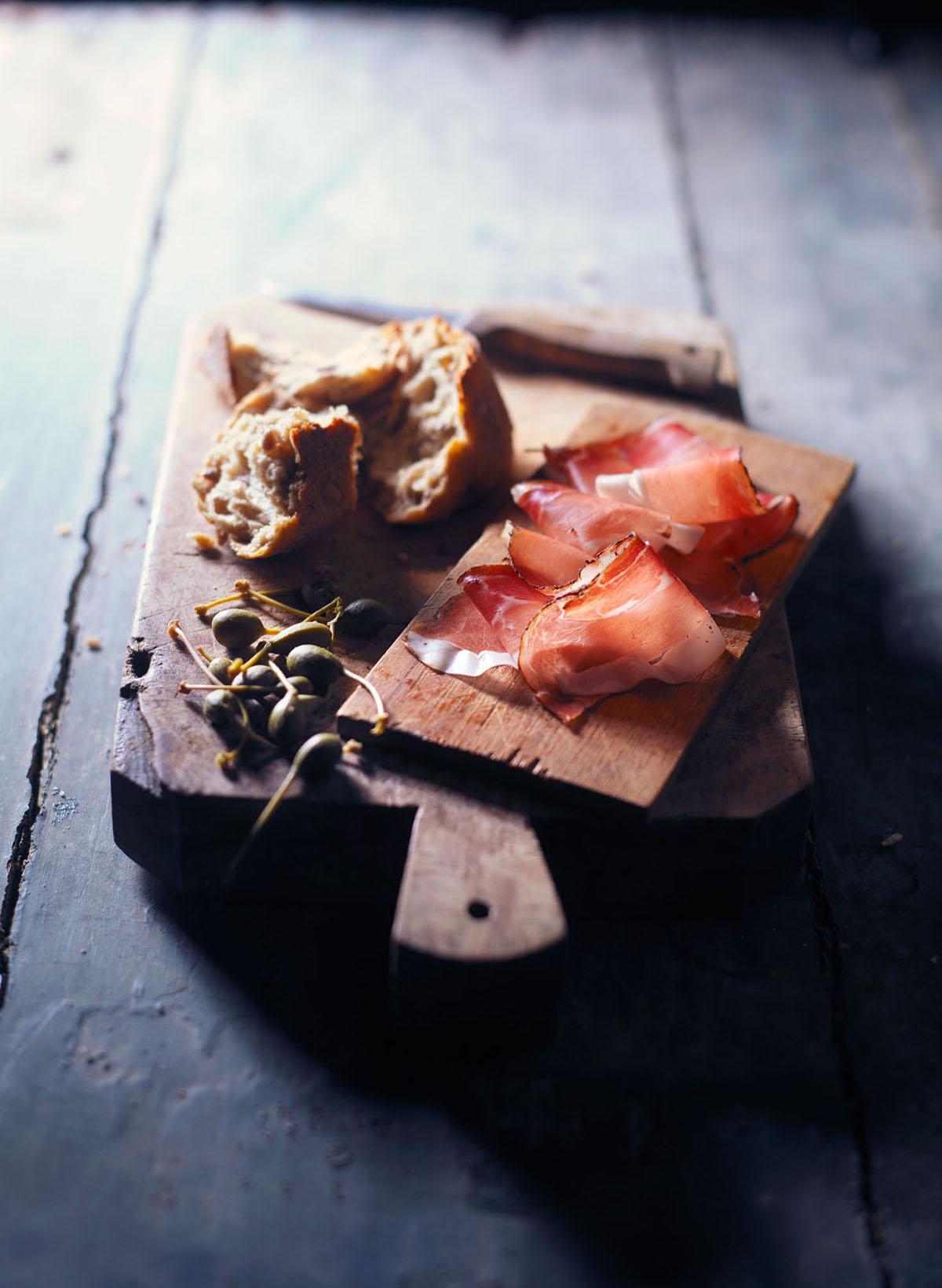 Brood, worst, kaas Mes scherp achter  OL  004
