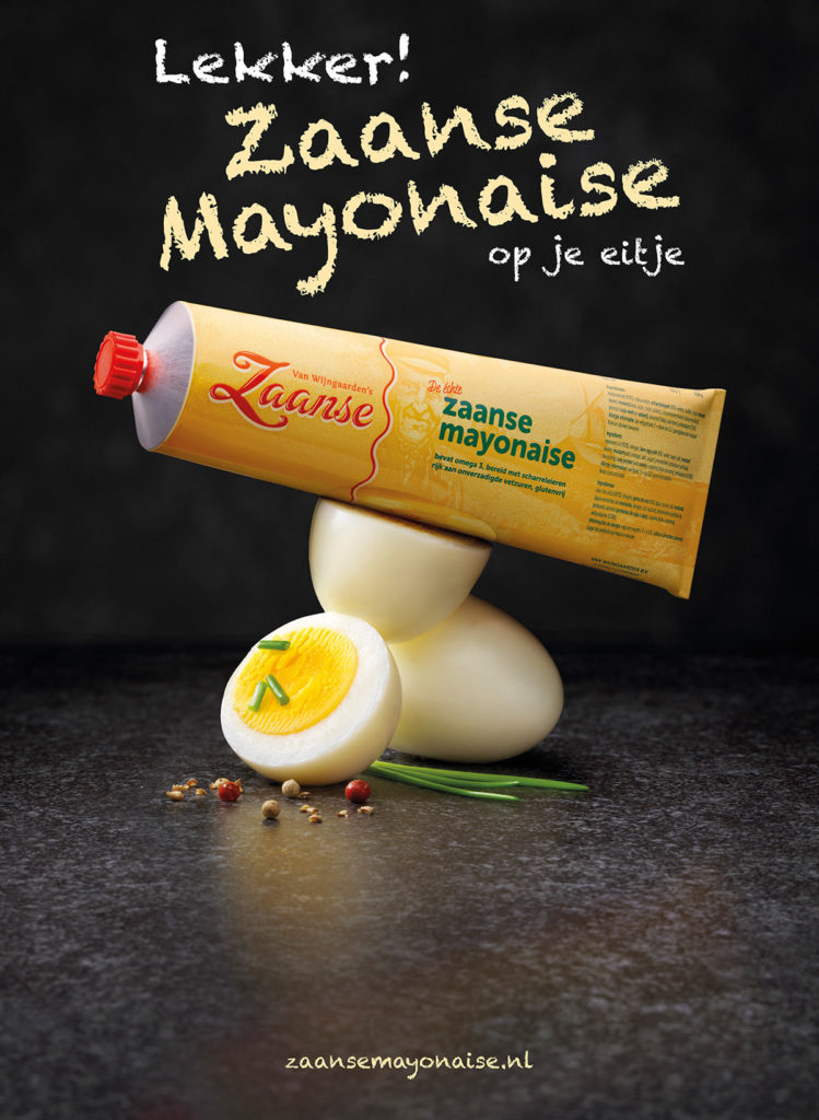 Van Wijngaarden Zaanse Mayonaise op Ei